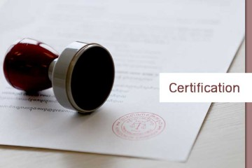 Certification of documents